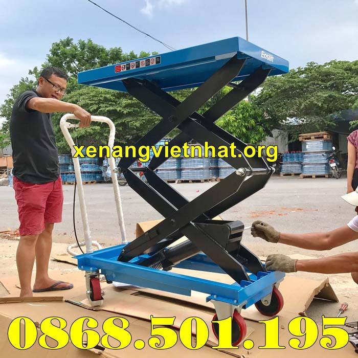 bàn nâng thủy lực 800kg