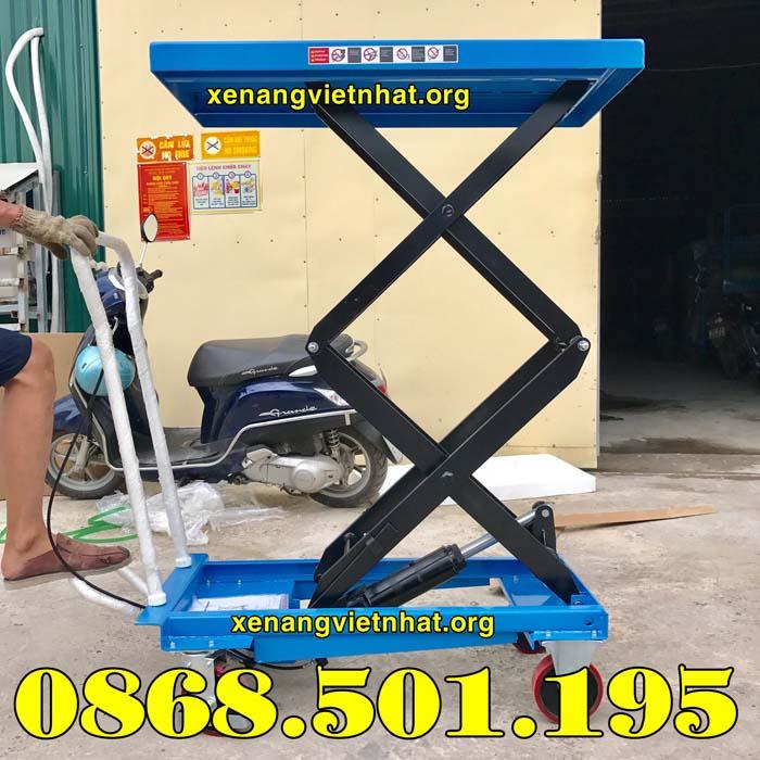 mua bàn nâng thủy lực 350kg