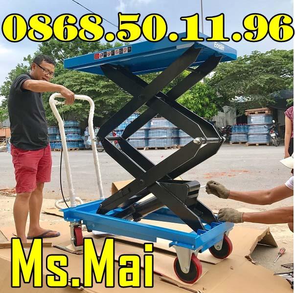 Bàn Nâng Thủy Lực 350kg Với Cách Sử Dụng đơn Giản, Hiệu Quả Nhất