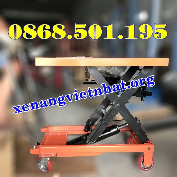 bàn nâng thủy lực 500kg nhập khẩuv