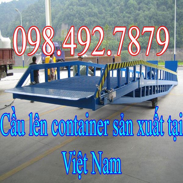 Cầu Dẫn Lên Container Sản Xuất Trong Nước Giá Tốt Nhất