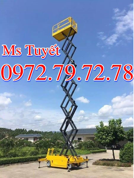 Thang nâng nguời 9 mét 12 mét