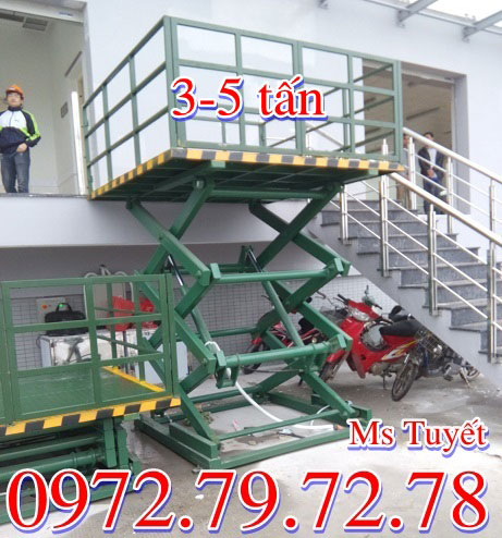bàn nâng điện 3 tấn