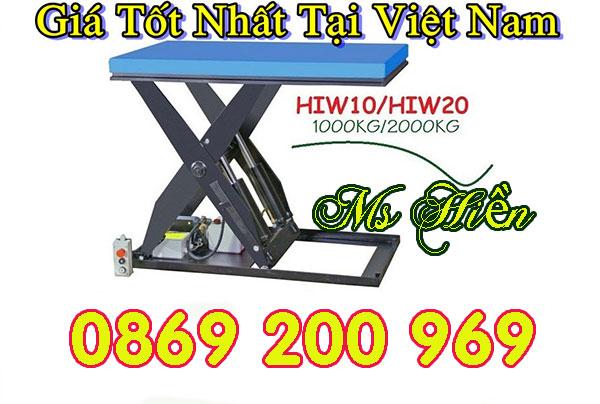 Bàn nâng điện 800kg với những ưu điểm và trãi nghiệm mới