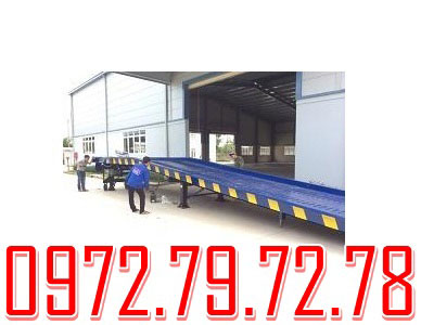 Cầu lên container 6 tấn