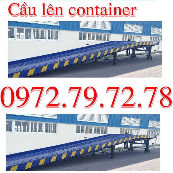 Cầu Dẫn Lên Container 8T Bán Giá Rẻ Nhất Tại Việt Nam Hiện Nay