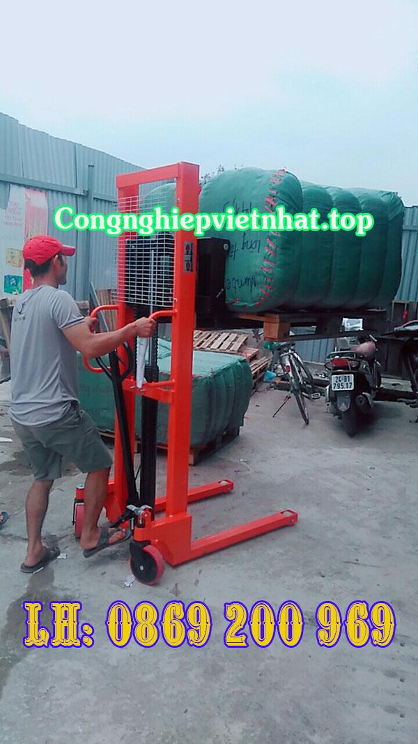 Xe nâng tay cao 1.5 tấn cao 1.6m với sức hoạt động bền bỉ