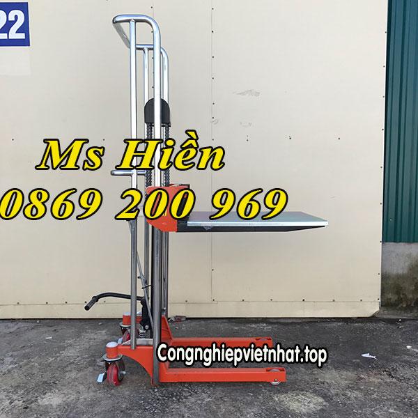 Xe Nâng Tay Cao Mini 400kg Siêu Phẩm Chuẩn đẹp đến Từng Centinmet