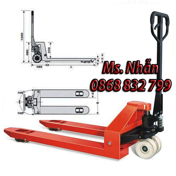 Xe nâng tay thấp 2 tấn Niuli chính hãng