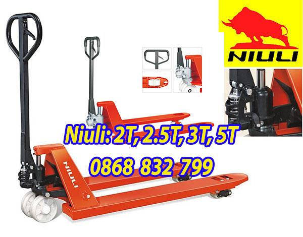 Xe nâng tay thấp 2.5 tấn Niuli