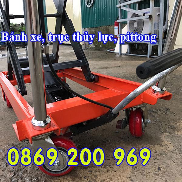 Xe nâng mặt bàn 800kg nhập khẩu giá tốt bảo hành dài hạn