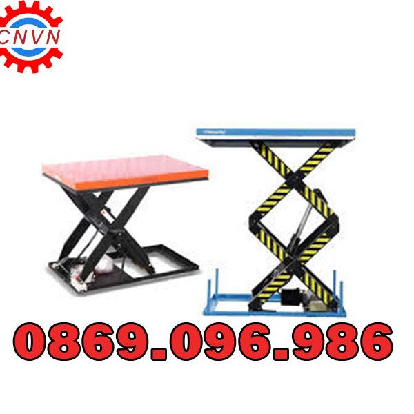 Cung cấp bàn nâng điện 1 tấn giá rẻ