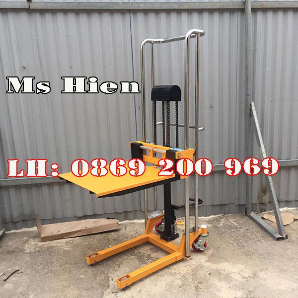 Mua Xe Nâng Tay Cao Mini 400kg Chính Hãng Giá Tốt Nhất
