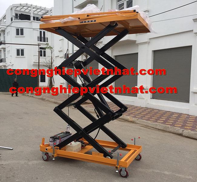 bàn nâng điện 350kg 500kg 1 tấn