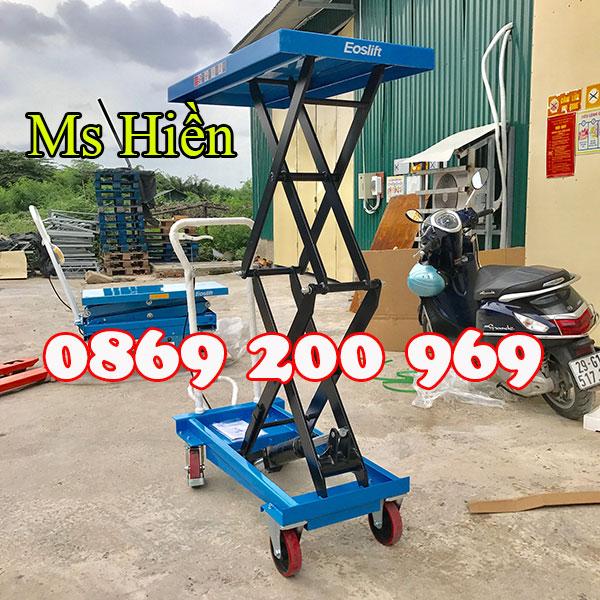 Bàn nâng điện 750kg chính hãng bán với giá rẻ cực sốc