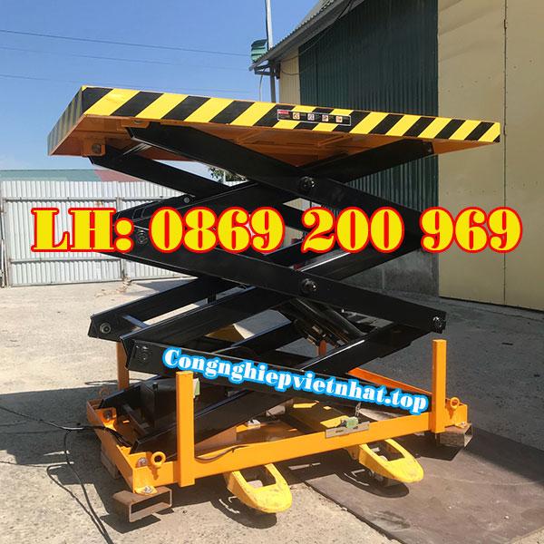 Bàn nâng điện 2 tấn SJGF -2000 tầm quan trọng với doanh nghiệp