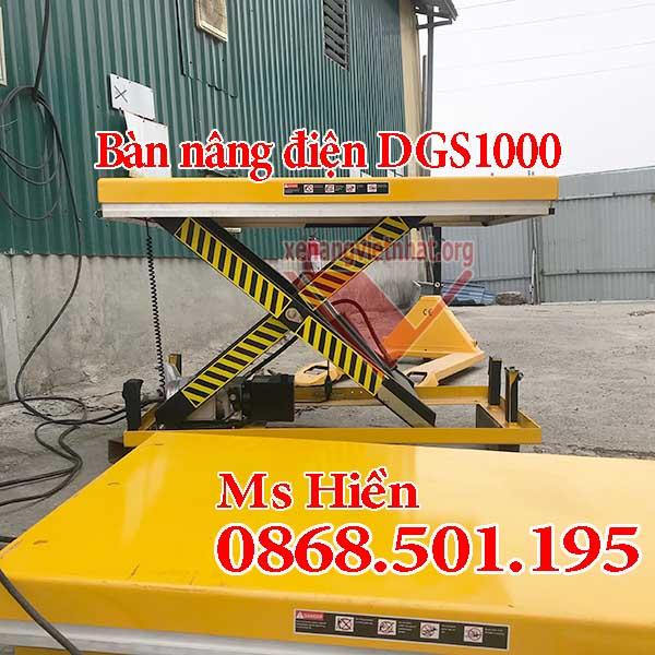 Bàn nâng điện DGS 1 tấn