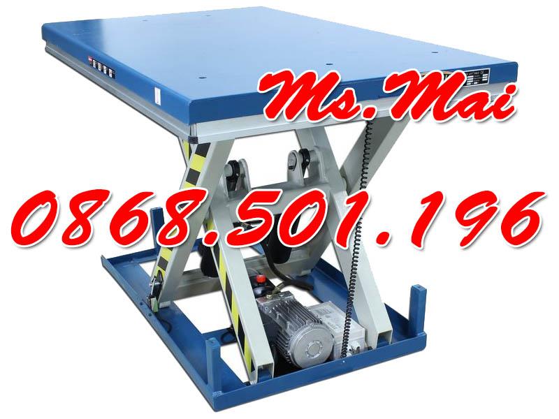 Bàn nâng điện 1 tấn cao 1m Staxx hiệu quả